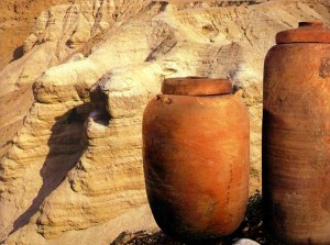 Jars of Clay that symbolizes the body of the servants of Christ
