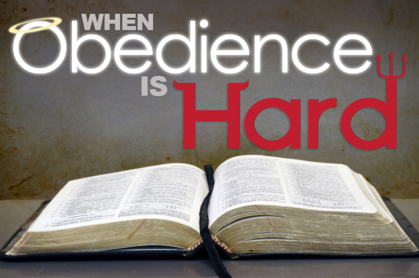 a test of obedience Chapter 7 the test of obedience the scriptures are full of truth that uncovers the differences between those who have been truly born of god's spirit and those who have only an empty profession.