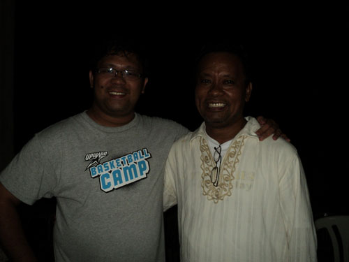 Vince with Ptr. Fred Aviles