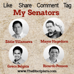 My Senators for 2013 elections