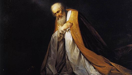 king david praying