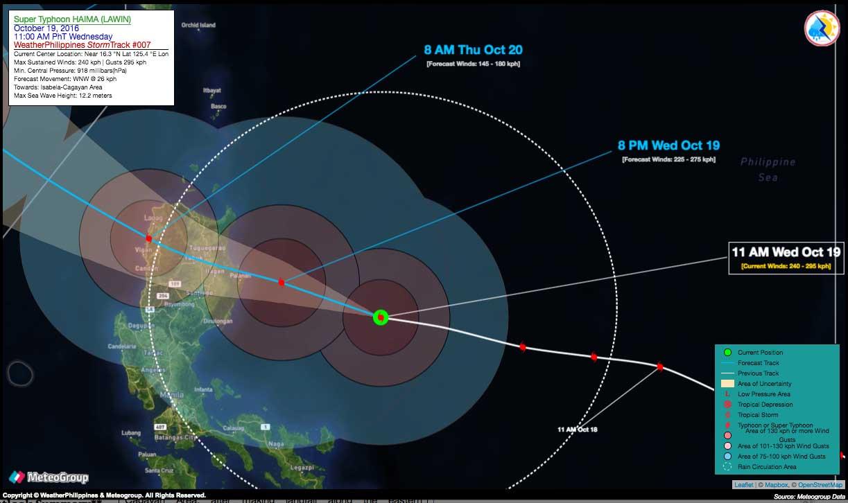 Tips on Preparing for Super Typhoon Haima aka Lawin