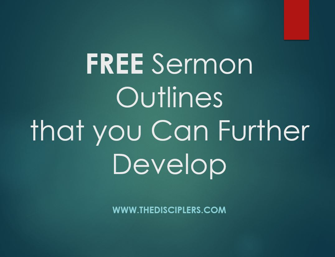 Free Sermon Outlines