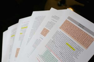 Important Parts of Sermon Manuscript and Why They Matter